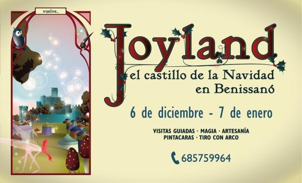 JOYLAND: el castillo de la Navidad en Benissanó
